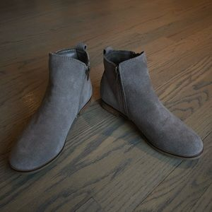 New genuine suede Steve Madden Booties.
